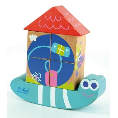 法國Boikido木製玩具-益智蝸牛