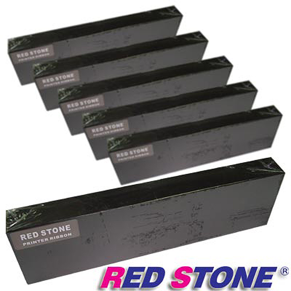 RED STONE for YE-DATA YD4800黑色色帶組(1組6入)