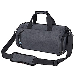 FK1901GY灰色 休閒運動側背包/健身包/旅行包(大號)