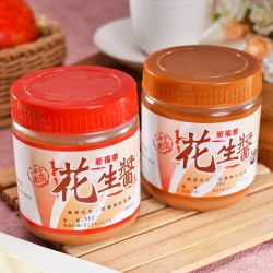 新福源 人氣花生醬 6瓶 (350g/瓶)