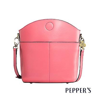 PEPPER`S  Norah 真皮斜背包 - 珊瑚粉