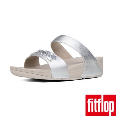 FitFlop SPARKLIE SLIDE SANDAL-銀色