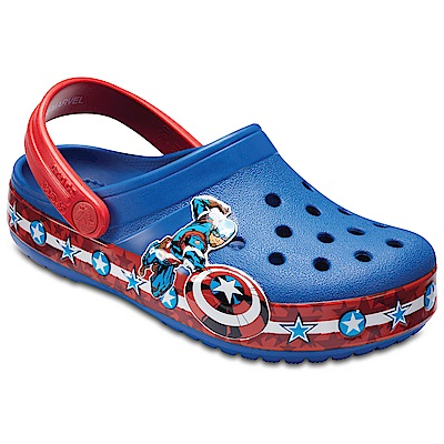 Crocs 卡駱馳 (童鞋) 美國隊長小克駱格 205019-4GX