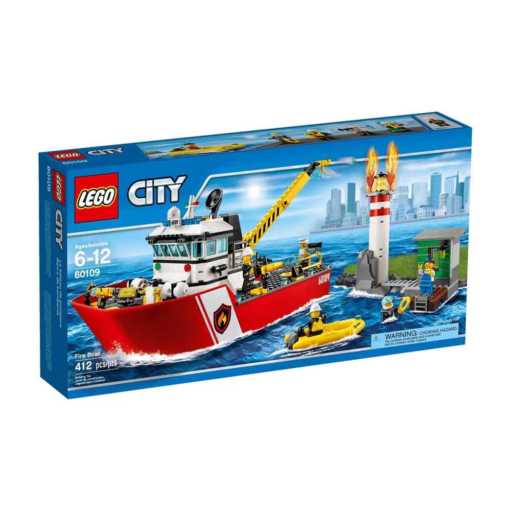 LEGO 樂高玩具 CITY系列 消防船 60109