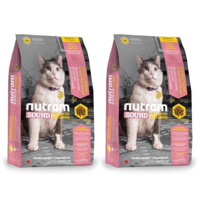 Nutram紐頓 均衡健康配方 - S5 成貓 雞肉鮭魚 1.8kg x 2包