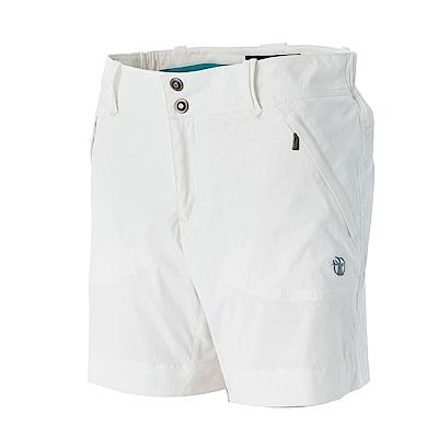 【Wildland 荒野】女彈性抗UV短褲白
