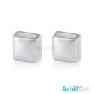 AchiCat 925純銀耳環 幾何方形