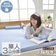 記憶床墊 日本大和防蹣抗菌3cm厚 小資入門