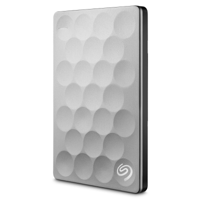 Seagate Backup Plus Ultra Slim 1TB 2.5吋外接硬碟-銀色