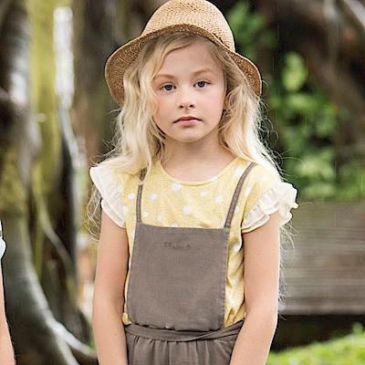 PIPPY 青春小圓點短袖上衣 黃