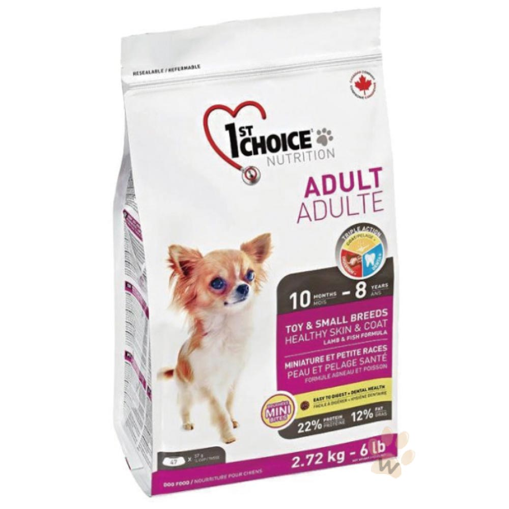 瑪丁 第一優鮮犬糧 迷你型成犬-羊肉配方2.72kg