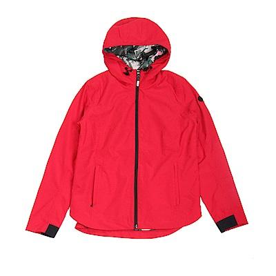 Timberland 女款探戈紅防水外套