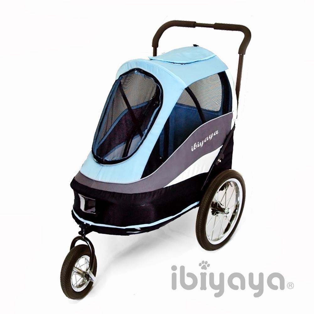 IBIYAYA依比呀呀  FS980二代兩用寵物推拖車-藍