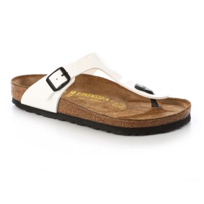 勃肯BIRKENSTOCK 543761。吉薩 夾腳拖鞋(白)