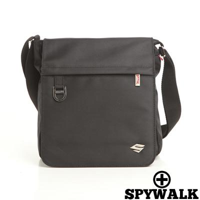 SPYWALK-紳士品格簡約實用款側肩包-大