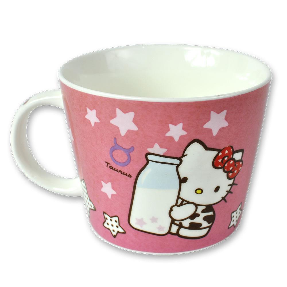 三麗鷗Hello Kitty星座馬克杯-金牛座