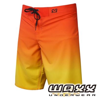 WAXX 漸層系列-日出景色吸濕排汗男性衝浪褲