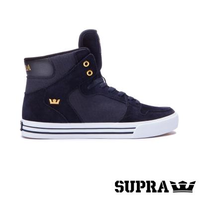 SUPRA Vaider系列男鞋-黑/金/白
