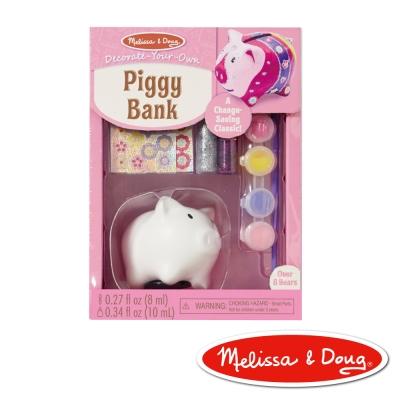 美國瑪莉莎 Melissa & Doug 粉紅豬撲滿