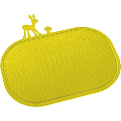 KOZIOL Kitzy斑比鹿早餐盤砧板(綠)