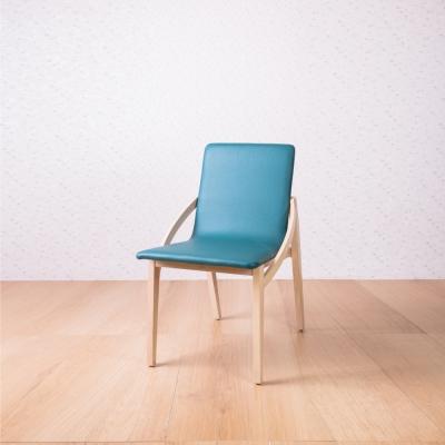 簡約風 克魯迪斜臂椅-70x52x83cm