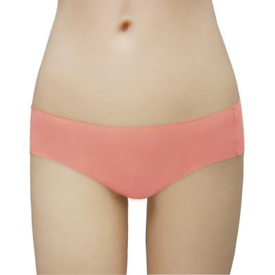 瑪登瑪朵-2014SS低腰寬邊三角無痕褲(莓果橘)