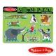 美國瑪莉莎 Melissa & Doug 聲音拼圖-動物園 product thumbnail 1