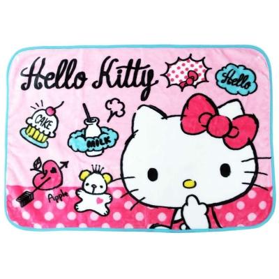 Sanrio HELLO KITTY輕巧毛毯S(粉俏皮小物)