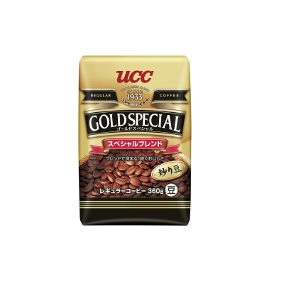 UCC 金質精選綜合咖啡豆(360g)
