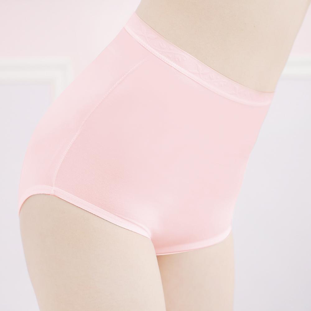 舒適健康親膚M-2XL高腰褲 甜蜜粉 可蘭霓Clany
