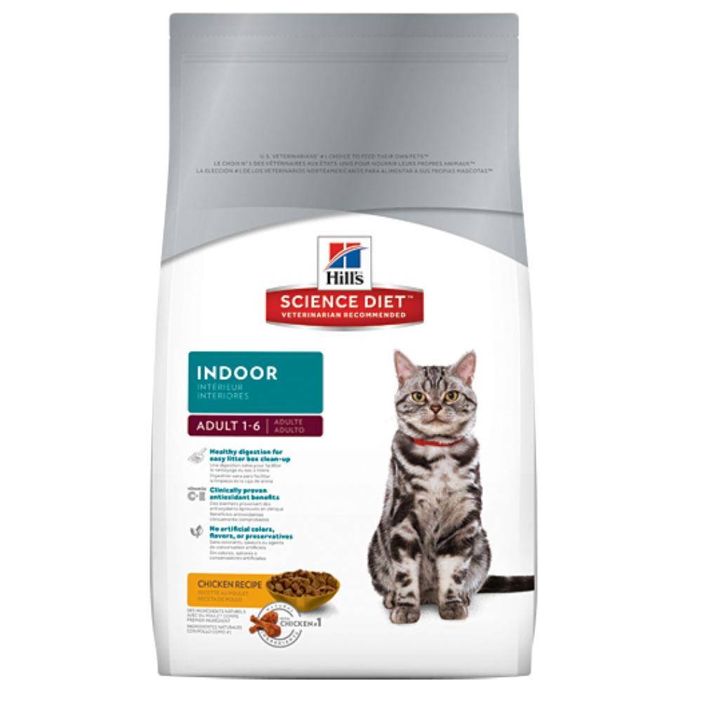 希爾思 室內成貓專用配方 4kg【10301HG】