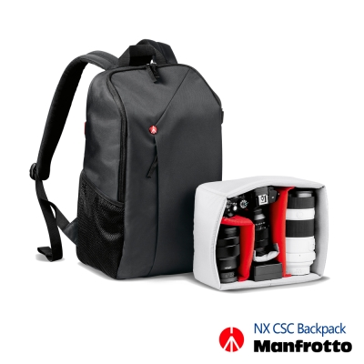 Manfrotto 開拓者微單眼後背包 NX Backpack CSC -太空灰
