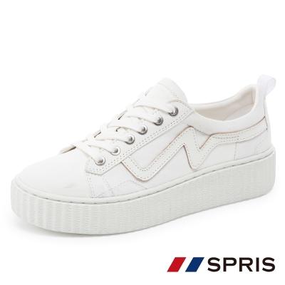 周子瑜TWICEx韓國SPRIS 聯名鞋款 UPBEAT 心跳悸動帆布鞋系列-白