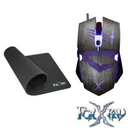 FOXXRAY 利爪獵狐電競滑鼠組(FXR-BMP-25)