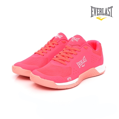 EVERLAST 美國運動品牌-重訓練習鞋-女-桃紅