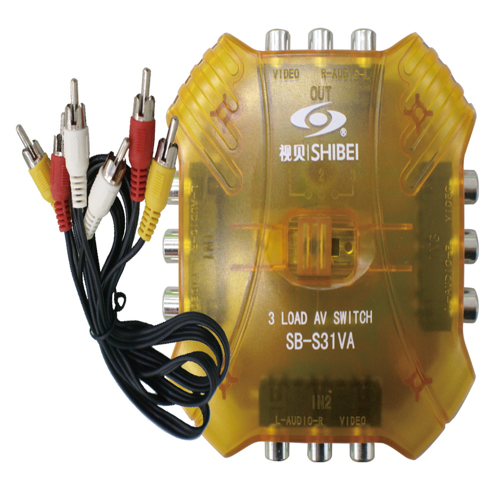 【遙控天王 】SB-S31VA(視貝seebest)AV切換器3入1出 @ Y!購物
