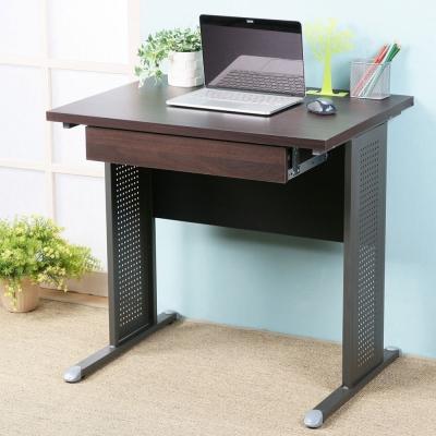 Homelike 路易80cm辦公桌-加厚桌面(附抽屜)