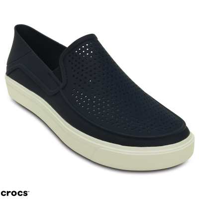 Crocs 卡駱馳 (男鞋) 都會街頭洛卡便鞋 202363-462