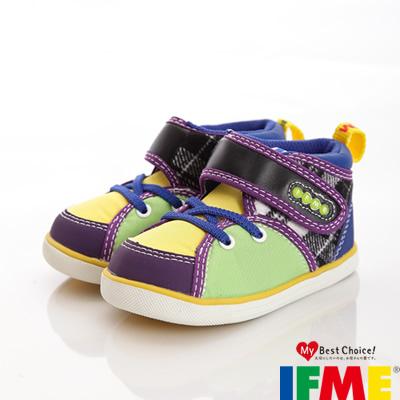 IFME健康童鞋-配色機能高筒款-12.5~14.5cm-175060