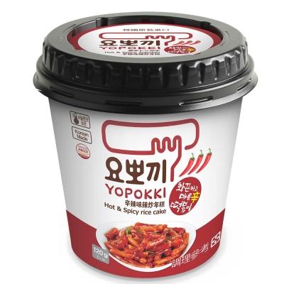 Yopokki 辛辣味辣炒年糕(120g)
