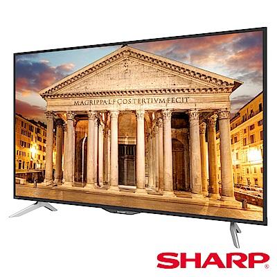 SHARP 夏普 50吋 4K智能連網液晶電視 LC-50UA6800T @ Y!購物