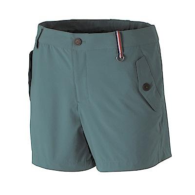 【Wildland 荒野】女RE四向彈性抗UV短褲-藍