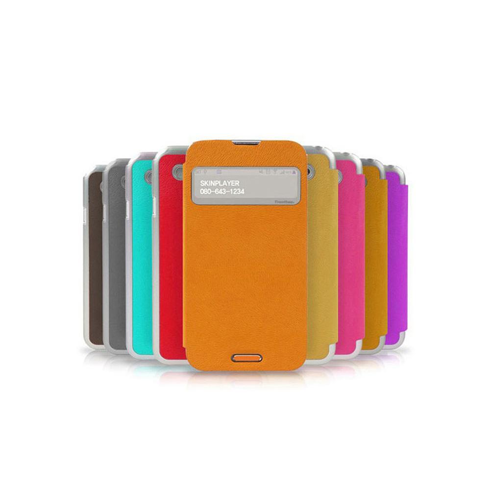 三星NOTE3 N9000 韓國TrentherView側掀式來電透視皮套