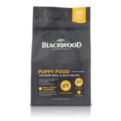BlackWood 柏萊富 幼犬 雞肉+米 5磅 2.27公斤 X 1包