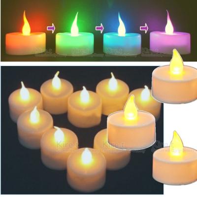 超值6入 Kiret LED蠟燭燈-告白求婚 情人節 黃光/七彩任選