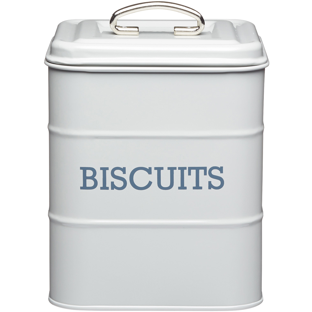 KitchenCraft 復古餅乾密封罐(灰)