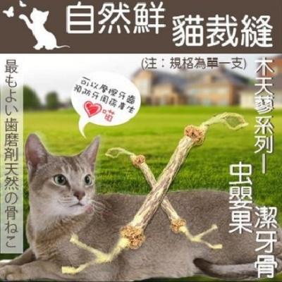 自然鮮-木天蓼系列虫嬰果潔牙骨造型貓玩具 NF-004
