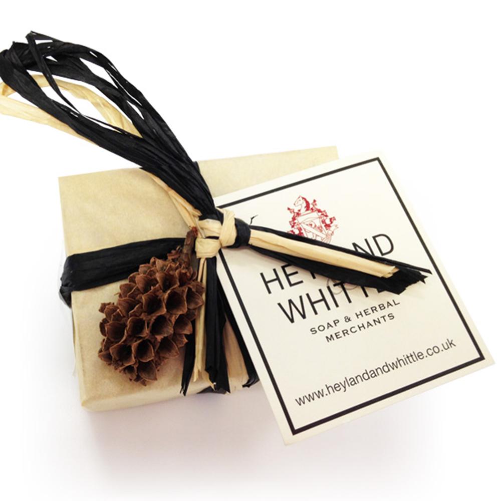 H&W英倫薇朵 繽紛甜橙手工香氛皂-男士50g