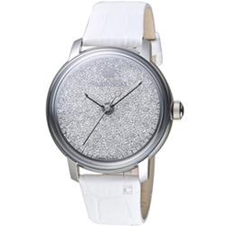 Swarovski 施華洛世奇 璀璨光彩時尚腕錶-白/38mm