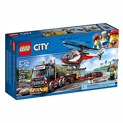 樂高LEGO城市系列 - LT60183 重貨運輸車